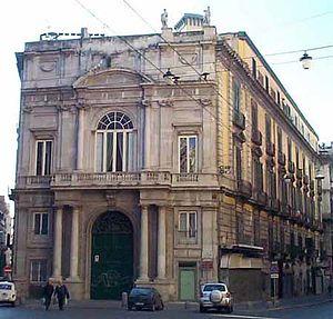Palazzo Doria d'Angri - Palazzo Doria d'Angri in Naples