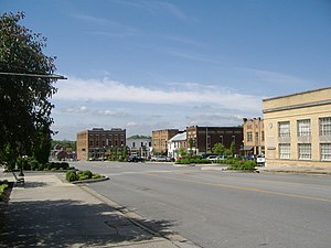 Greensburg, Kentucky - Downtown Greensburg