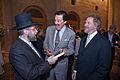 Dr. Michael D. Evans & Rabbi Pinchas Goldschmidt.jpg