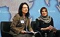 Dr Claire Spencer, HRH Princess Basmah Bint Saud (8695476025).jpg
