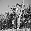 Drager met oogstkuip bij de wijngaard, Bestanddeelnr 254-4167.jpg