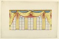 Drawing, Design for Curtains, for the Music Room or the Banqueting Room, Brighton, Royal Pavilion, 1818–19 (CH 18609809-2).jpg