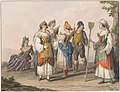 Drawing, Water color; Costumes of South Calabria, 1828 (CH 18329793).jpg