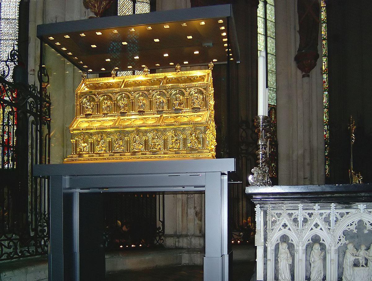 Реликварий 3 королей в Кёльнском соборе, Германия
