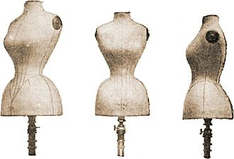 Dress form - Dress forms of 1893