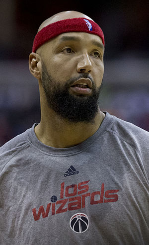 Drew Gooden - Gooden with the Wizards in 2014