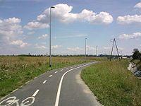 Droga rowerowa w Lubinie.jpg