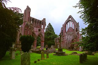 Dryburgh Abbey category A listed building