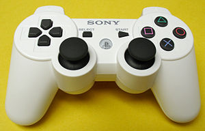 DualShock - Ceramic white version of the DualShock 3 wireless controller.