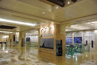 Al Ras (Dubai Metro) - Middle Eastern architecture in the Al Ras station
