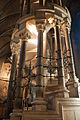 Dublin St. Patrick's Cathedral North Transept East Aisle Spiral Staircase 2012 09 26.jpg