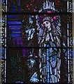 Duhill Church of Saint John the Baptist Window Vision of Bernadette at Lourdes by Harry Clarke Detail Our Lady of Lourdes 2012 09 08.jpg