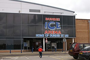 Dundee Ice Arena - Image: Dundee Ice Arena geograph.org.uk 1296884