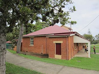 St Mark's Anglican Church and Dunwich Public Hall - Dunwich Public Hall, 2015