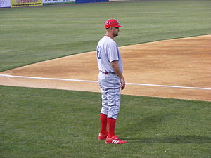 Dusty Wathan - Wathan as manager of the Clearwater Threshers