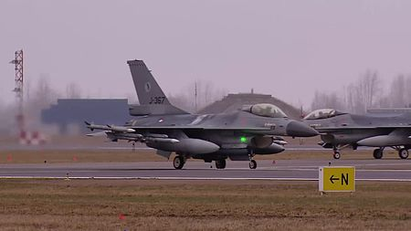 File:Dutch F-16 operations at the Siauliai military base in Lithuania.webm