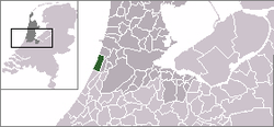 Location of Zandvorta