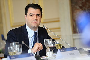 Mayor of Tirana - Image: EPP Summmit, Brussels; October 2014 (15422482267)