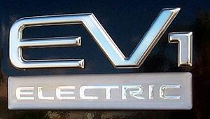 General Motors EV1 - GM EV1 badging