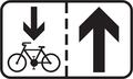 E 16b - Jazda cyklistov v protismere povolená (vzor) 2.png