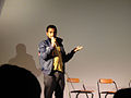 Eagleheart Q&A @ Cinefamily - host Aziz Ansari (7046674239).jpg