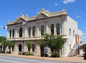 East Fremantle, Western Australia - The East Fremantle Town Hall, located on Canning Highway.