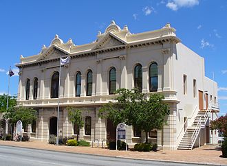Town of East Fremantle - The East Fremantle Town Hall in November 2011