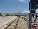East down tracks from N 2400 West on W North Temple, Aug 15.jpg