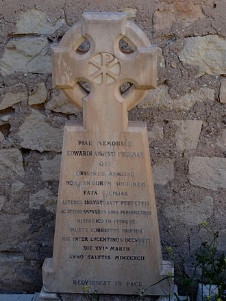 Edward Augustus Freeman - Freeman's grave in Alicante, Spain
