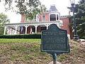 Edward Carroll House with Historical Plaque, Leavenworth, Kansas.jpg