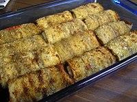 Stuffed Rolled Aubergines Bbc Good Food