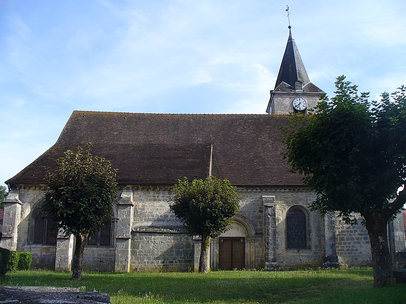 Église de la Nativité-de-la-Vierge de Poulangy.