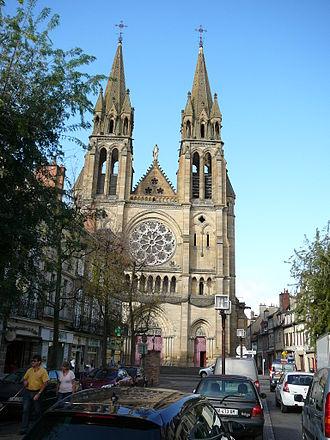 Jean-Baptiste Lassus - Église du Sacré-Cœur de Moulins