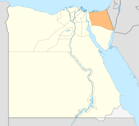 Egypt North Sinai locator map.svg