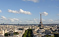 Eiffel Tower- seen from Arc de Triomphe.jpg