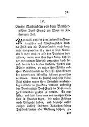 Einige Nachrichten von dem Bambergischen Dorfe Sand am Mayn im Kastenamte Zeil, S. 701-703