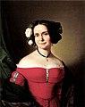 Einsle Woman in red Dress 1838.jpg