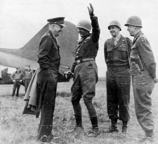 Eisenhower, Patton, Bradley, Hodges cph.3c35308