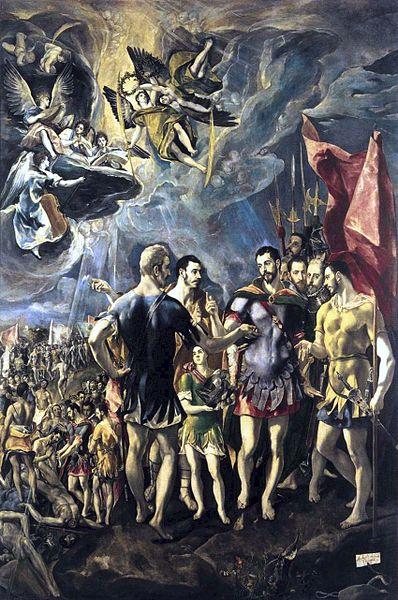Εικόνα:El Greco-The Martyrdom of St Maurice.jpg