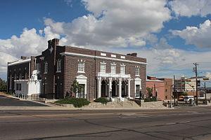 Woman's Club of El Paso - Woman's Club Building, 2008