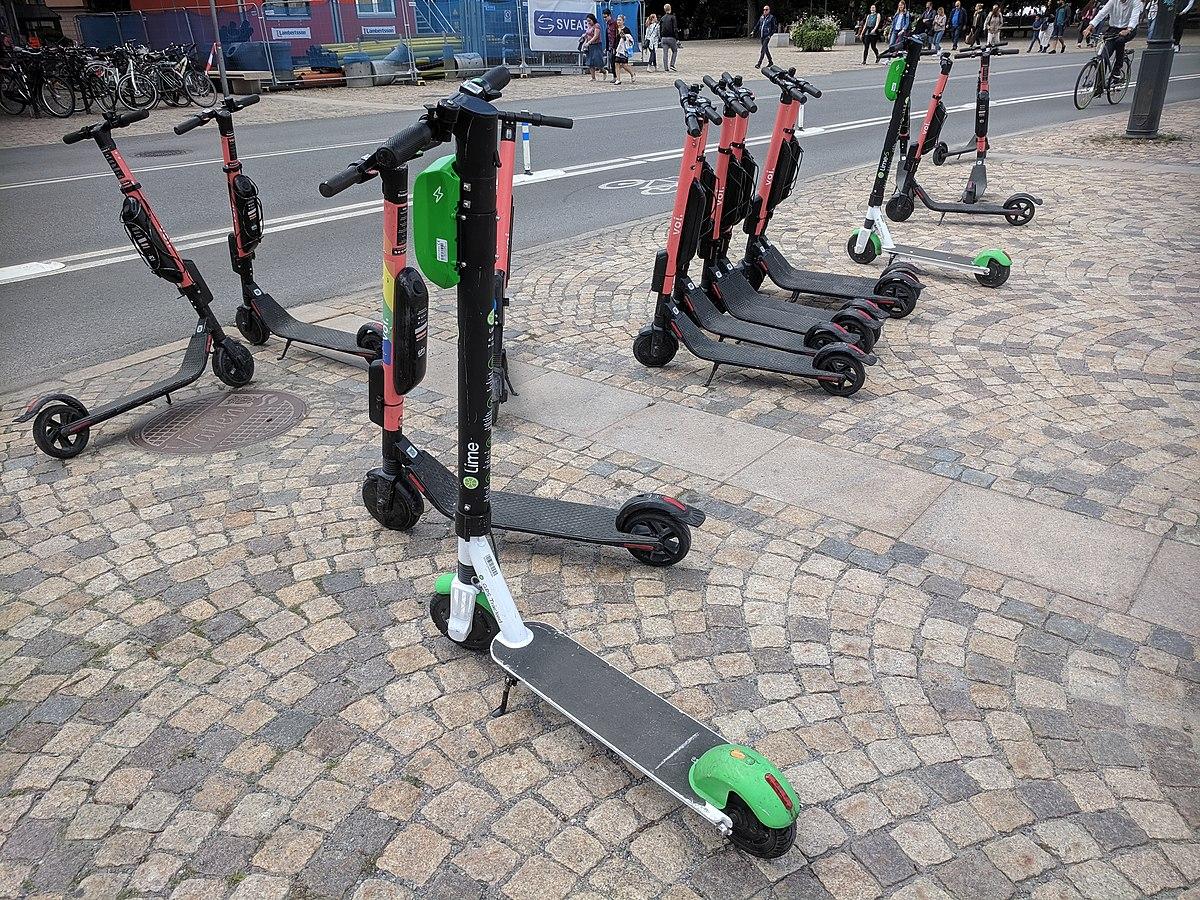 Bildergebnis für e-scooter wikipedia