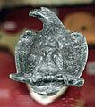 Elemento decorativo a forma di aquila in bronzo, da roselle.JPG
