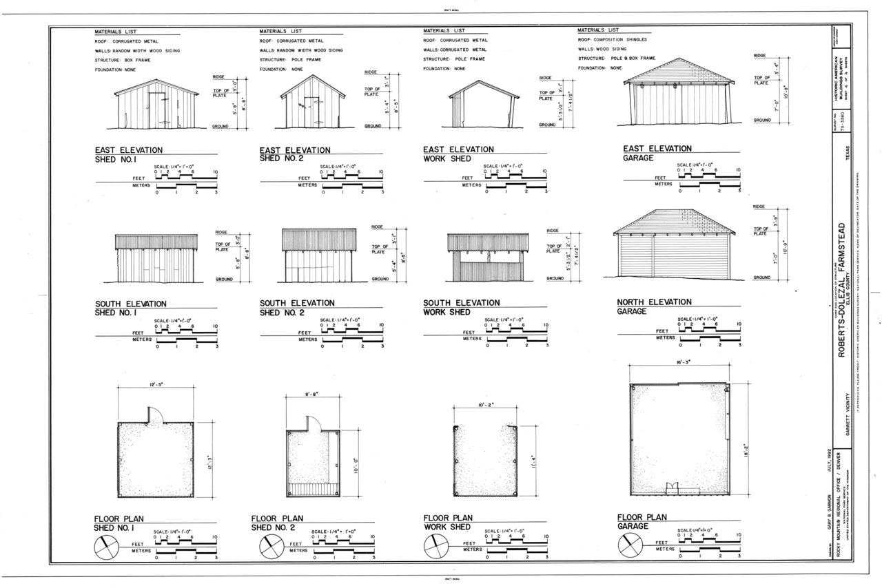 File Elevations And Floor Plan Of Shed No 1 Elevations