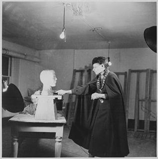 Nancy Elizabeth Prophet American sculptor