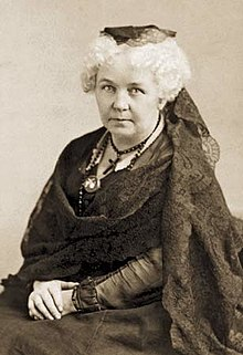 For Suffragette Elizabeth Cady Stanton  All Women Were Not Created     Sally Roesch Wagner as Elizabeth Cady Stanton