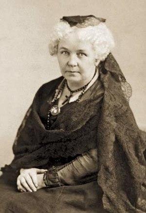 Italiano: Elizabeth Cady Stanton (1815-1902)