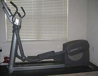 Elliptical trainer exercise equipment