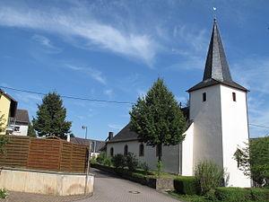 Ellscheid - Ellscheid, church