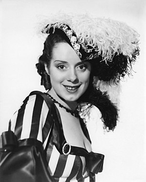 Elsa Lanchester - In a promotional shot for Naughty Marietta (1935)