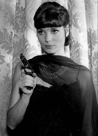 Elsa Martinelli - Martinelli as a guest star in The Rogues, 1964.